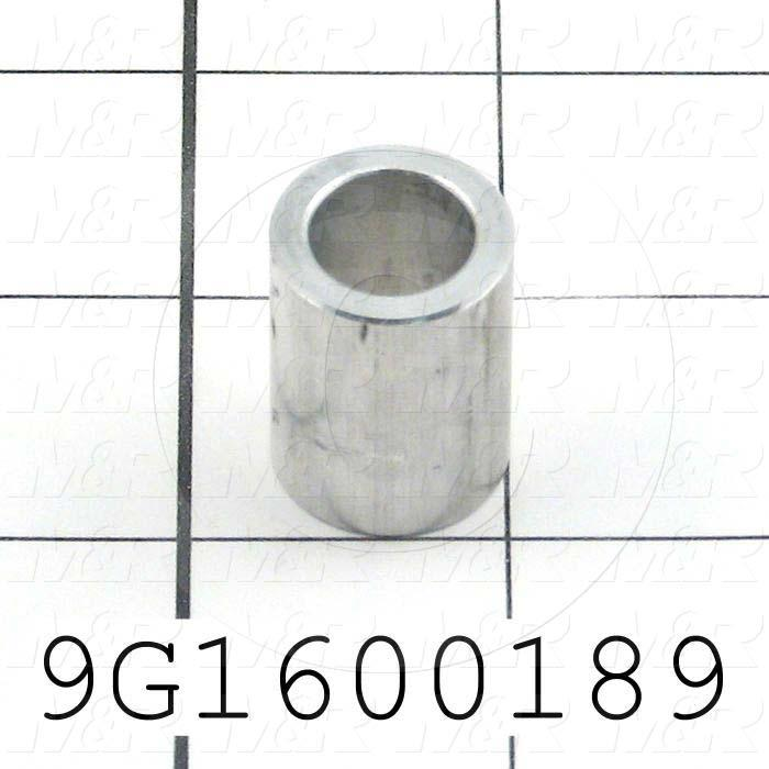 Fabricated Parts, Idler Roller Spacer, 1.00 in. Length, 0.75 in. Diameter