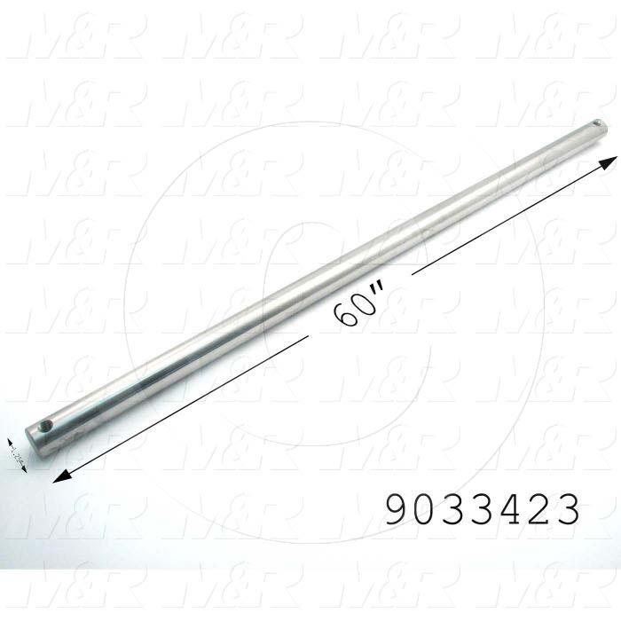 Fabricated Parts, Idler Shaft, 60.00 in. Length, 1.25 in. Diameter