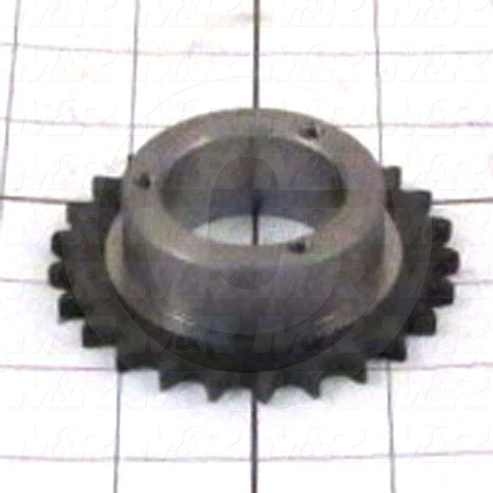 Fabricated Parts, Idler Sprocket Assembly, 3.13 in. Diameter, 0.88 in. Thickness