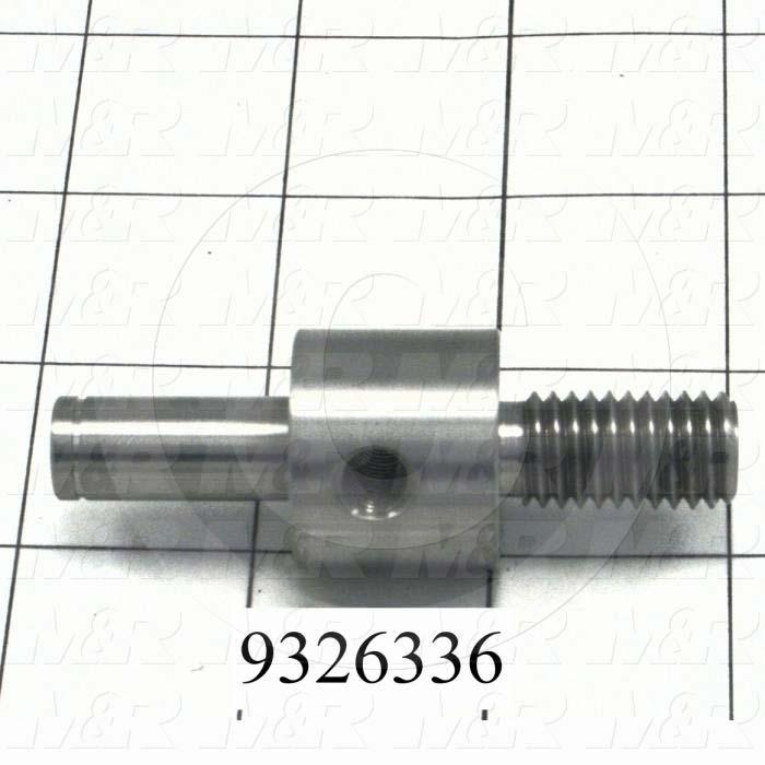 Fabricated Parts, Idler Sprocket Shaft, 2.81 in. Length, 1.00 in. Diameter