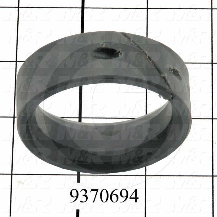 Fabricated Parts, Inside Rear Pipe Slider, 0.88 in. Length, 2.56 in. Diameter