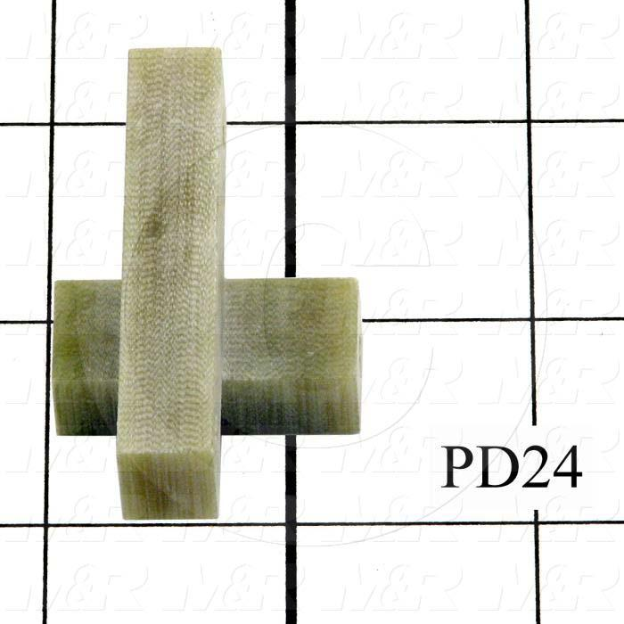 Fabricated Parts, Lamp Holder Bracket, 1.00 in. Length, 2.00 in. Width, 1.25 in. Height