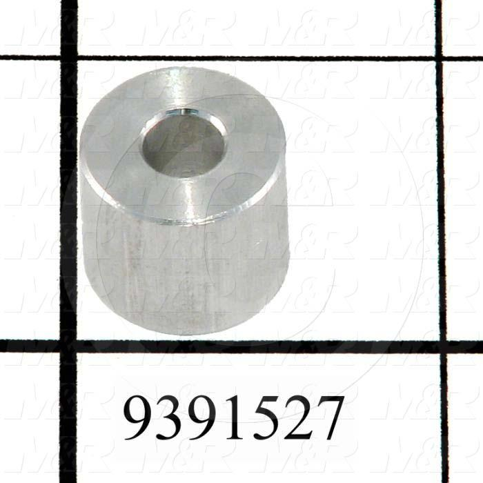 Fabricated Parts, Lamp Mounting Spacer, 0.44 in. Length, 0.50 in. Diameter