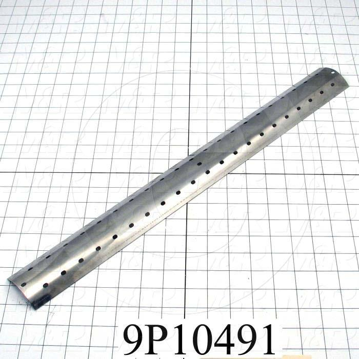 Fabricated Parts, Lamp Reflective Mirror, 22.00 in. Length, 2.54 in. Width, 0.57 in. Height