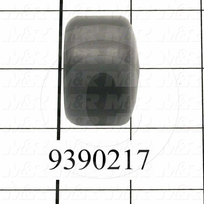 Fabricated Parts, Leveling Pad, 1.00 in. Width, 1.50 in. Diameter