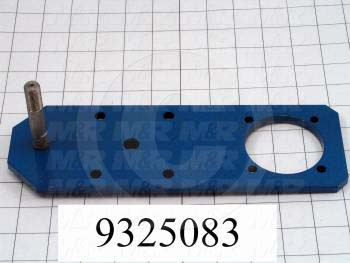 Fabricated Parts, Lever Weldment, 10.63 in. Length, 3.50 in. Width, 3.35 in. Height