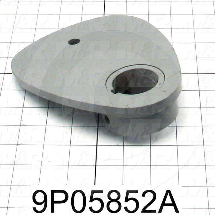 Fabricated Parts, Lift Cam, 7.75 in. Length, 6.27 in. Width, 1.50 in. Height, Left