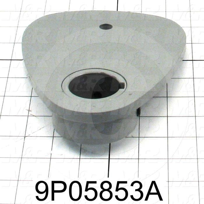 Fabricated Parts, Lift Cam, 7.75 in. Length, 6.27 in. Width, 1.50 in. Height, Right