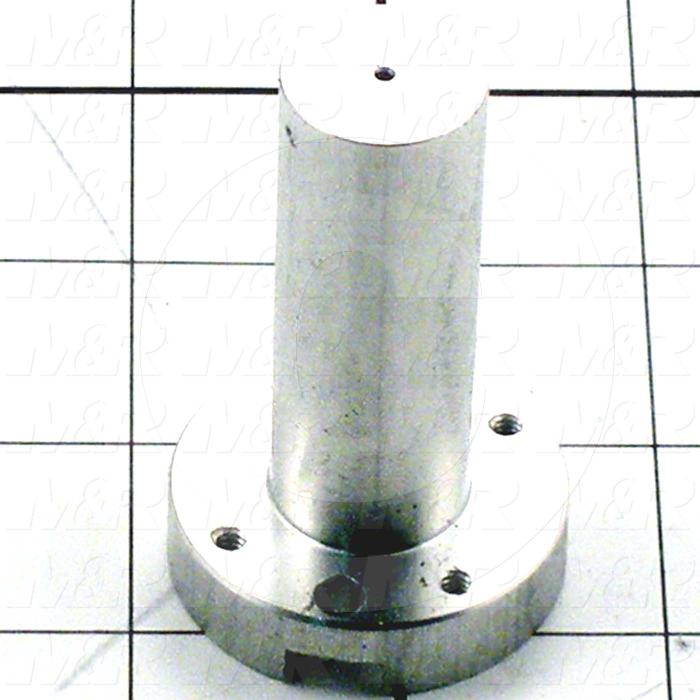 Fabricated Parts, Lift Pin Cylinder Guide, 2.44 in. Length, 1.50 in. Diameter