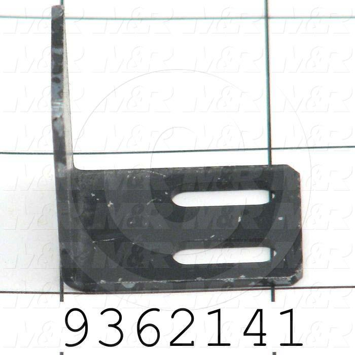 Fabricated Parts, Lift Proximity Flag, 0.81 in. Length, 1.16 in. Width, 1.13 in. Height, Front Side
