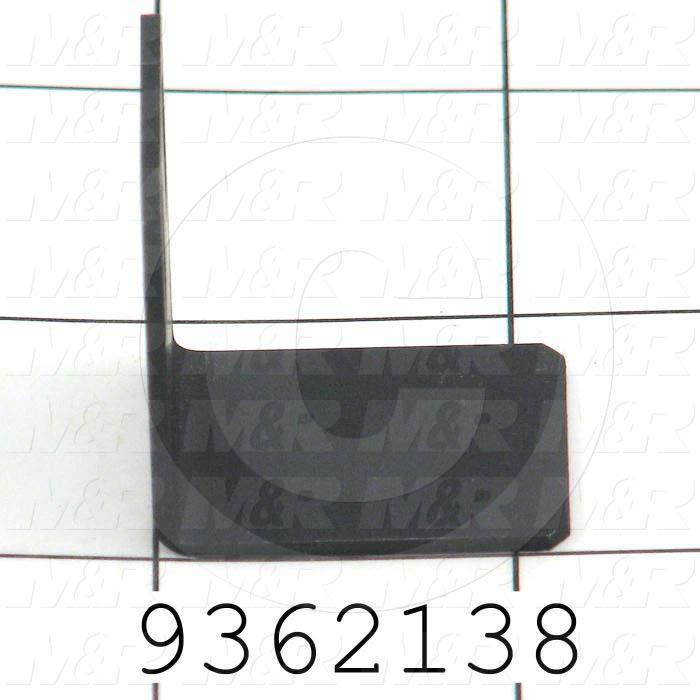 Fabricated Parts, Lift Proximity Flag, 0.81 in. Length, 1.16 in. Width, 1.36 in. Height, Rear Side