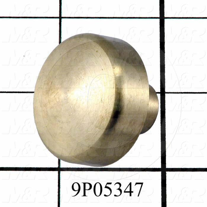 Fabricated Parts, Lift Stop Position Button, 1.00 in. Length, 1.25 in. Diameter