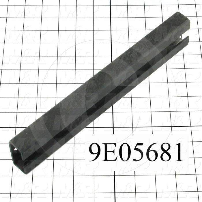 Fabricated Parts, Linear Bearing Rail, 11.88 in. Length, 2.00 in. Width, 1.00 in. Height