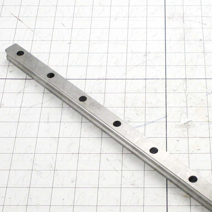 Fabricated Parts, Linear Rail, 940.00 mm Length, 2.48 in. Width, 1.18 in. Height