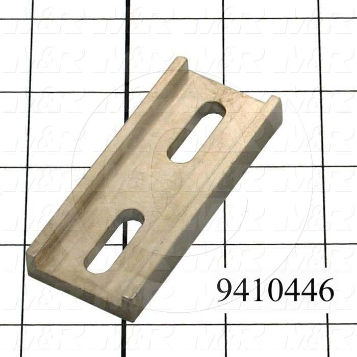 Fabricated Parts, Linking Bracket, 3.00 in. Length, 1.25 in. Width, 0.38 in. Height