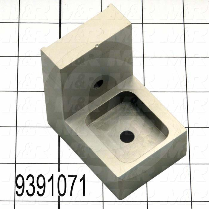 Fabricated Parts, Locator Adjustable Block, 3.00 in. Length, 2.75 in. Width, 2.00 in. Height