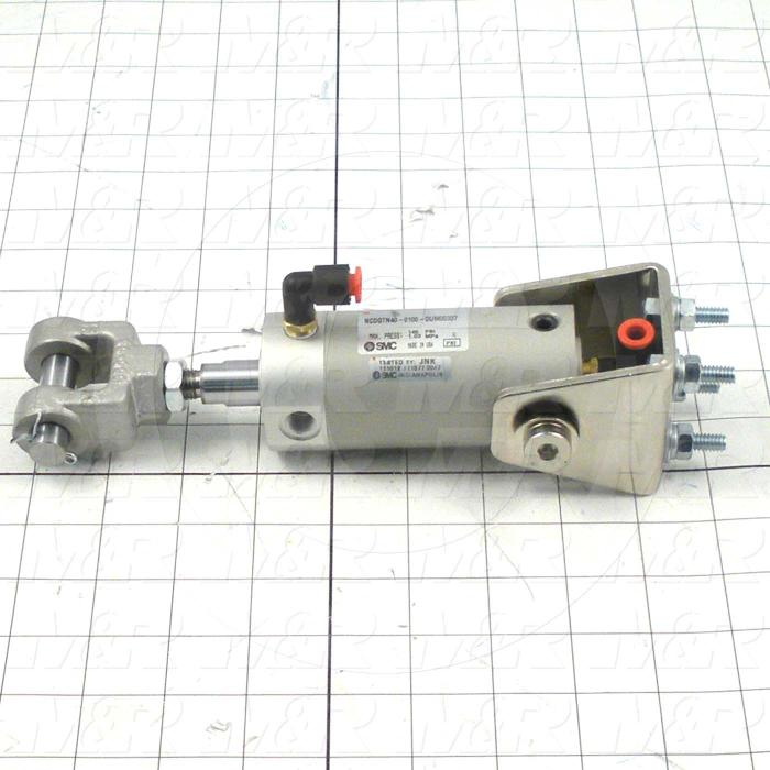Fabricated Parts, Locator Cylinder Assembly, 8.42 in. Length, 3.10 in. Width, 4.20 in. Height