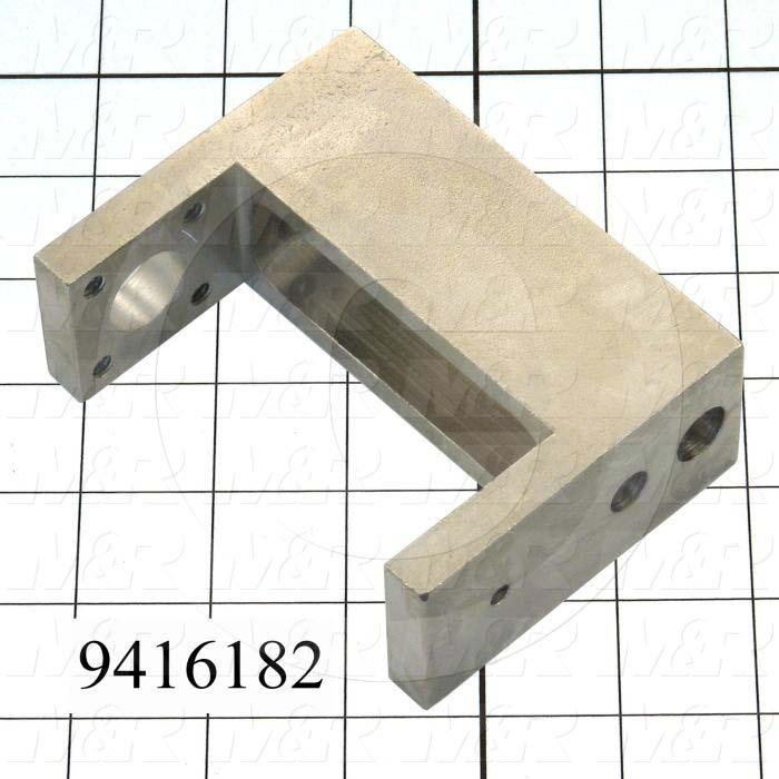 "Fabricated Parts, Lock Clamp 4.25"", 4.25 in. Length, 3.25 in. Width, 1.50 in. Height"