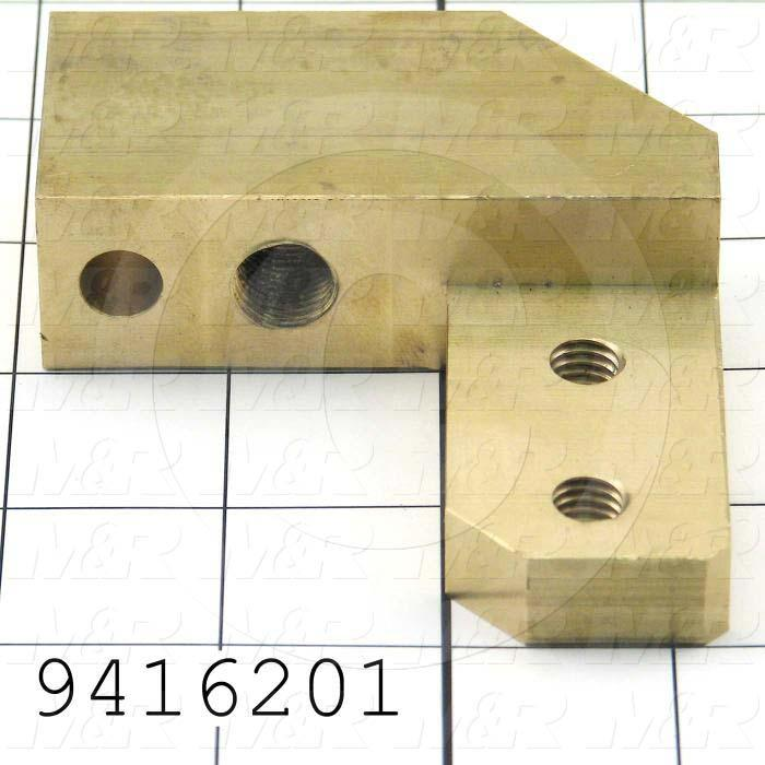 Fabricated Parts, Lock Clamp L.H., 3.50 in. Length, 3.13 in. Width