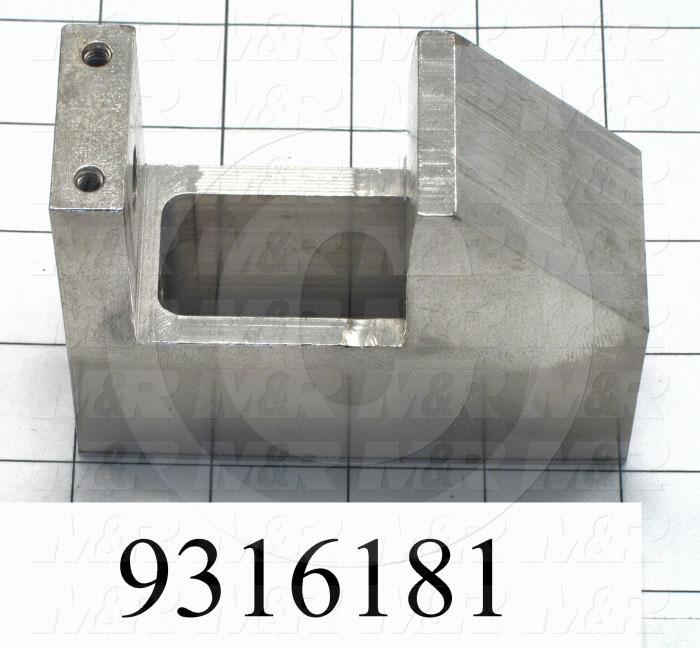Fabricated Parts, Lock Clamp Machined, 3.25 in. Length, 1.50 in. Width, 4.00 in. Height