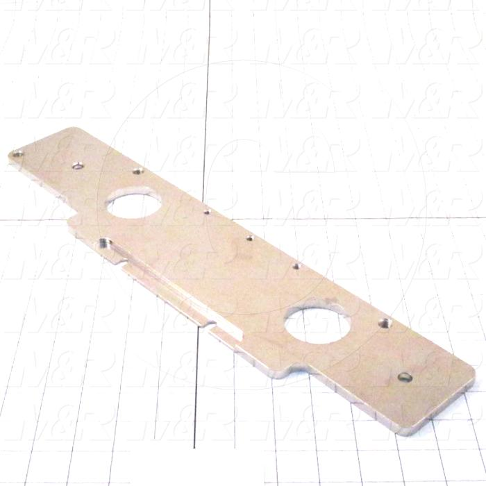 Fabricated Parts, Lower Micro Plate, 18.25 in. Length, 4.00 in. Width, 0.31 in. Thickness