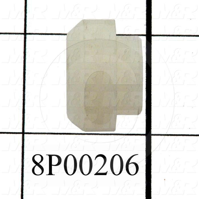 Fabricated Parts, Magnet Keeper Stud, 0.58 in. Length, 0.88 in. Diameter