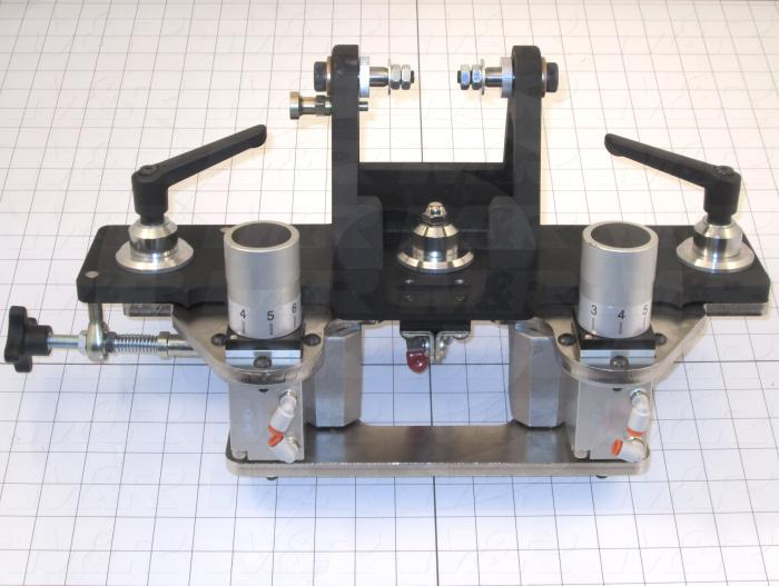 Fabricated Parts, Micro Assembly, 19.16 in. Length, 8.52 in. Width, 10.15 in. Height, Front Side