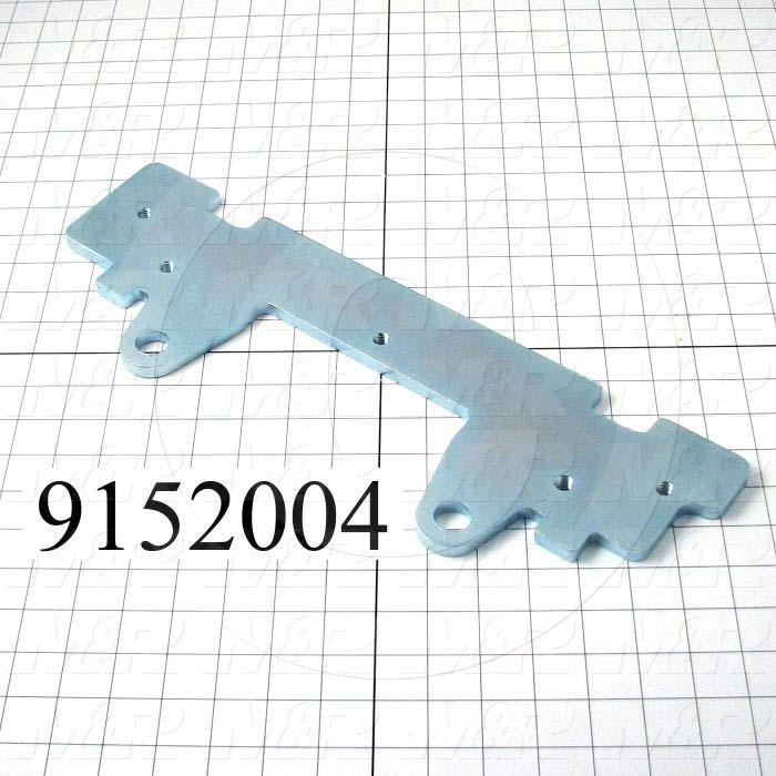 Fabricated Parts, Micro Bottom Plate, 17.00 in. Length, 5.50 in. Width, 0.38 in. Thickness