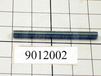 Fabricated Parts, Micro Locking Stud Left Hand, 4.25 in. Length