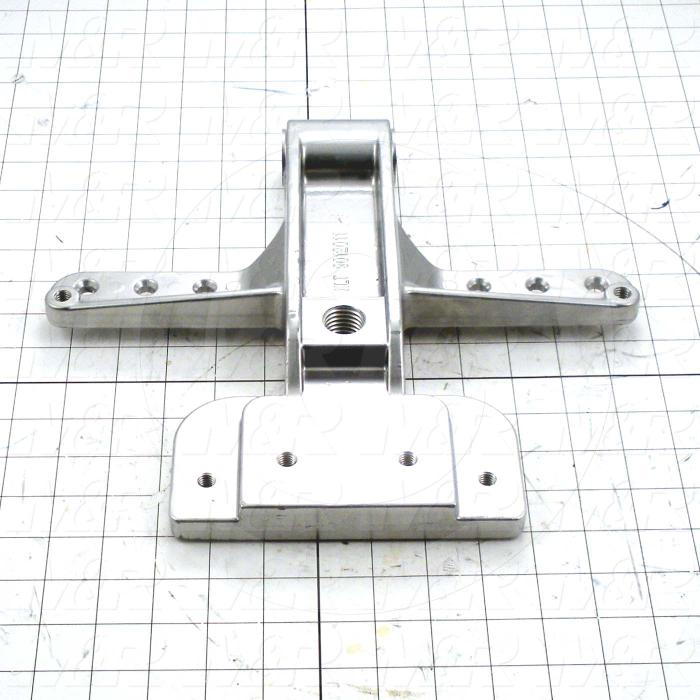 Fabricated Parts, Micro Mounting Bracket Machined, 11.03 in. Length, 12.10 in. Width, 1.53 in. Height