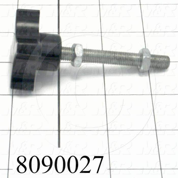 Fabricated Parts, Micro Screw, 3.50 in. Length