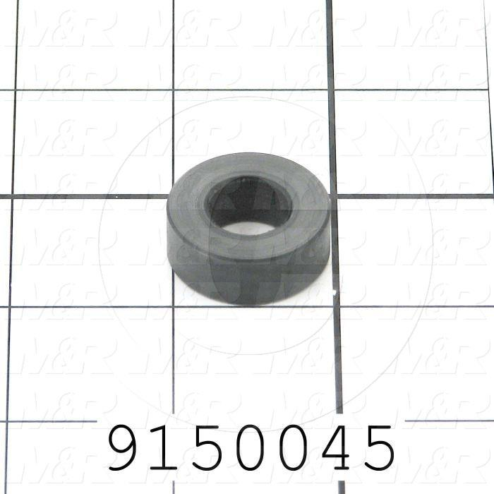 Fabricated Parts, Micro Shoulder Bolt Spacer, 1.00 in. Diameter, 0.38 in. Thickness
