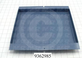 Fabricated Parts, Middle Front Panel, 11.50 in. Length, 10.96 in. Width, 1.06 in. Height