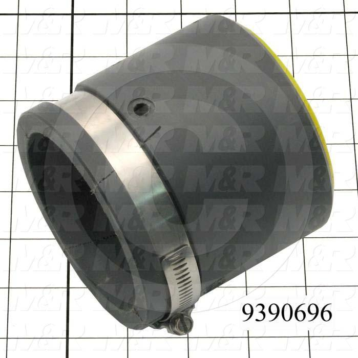 Fabricated Parts, Middle Seal Housing, 3.63 in. Length, 4.00 in. Diameter