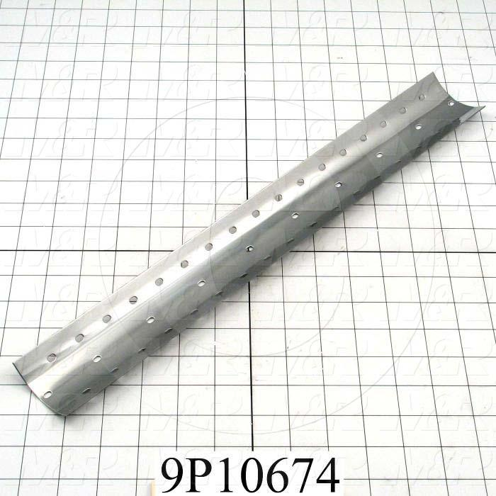 Fabricated Parts, Mirror, 18.00 in. Length, 2.32 in. Width, 20 GA Thickness