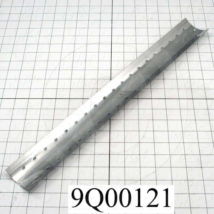 Fabricated Parts, Mirror, 20.00 in. Length, 2.38 in. Width, 0.88 in. Height