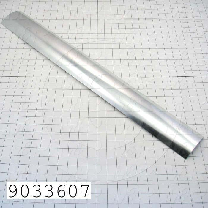 Fabricated Parts, Mirror, 31.44 in. Length, 3.75 in. Width, 0.68 in. Height, Use In Vitran V60 Series