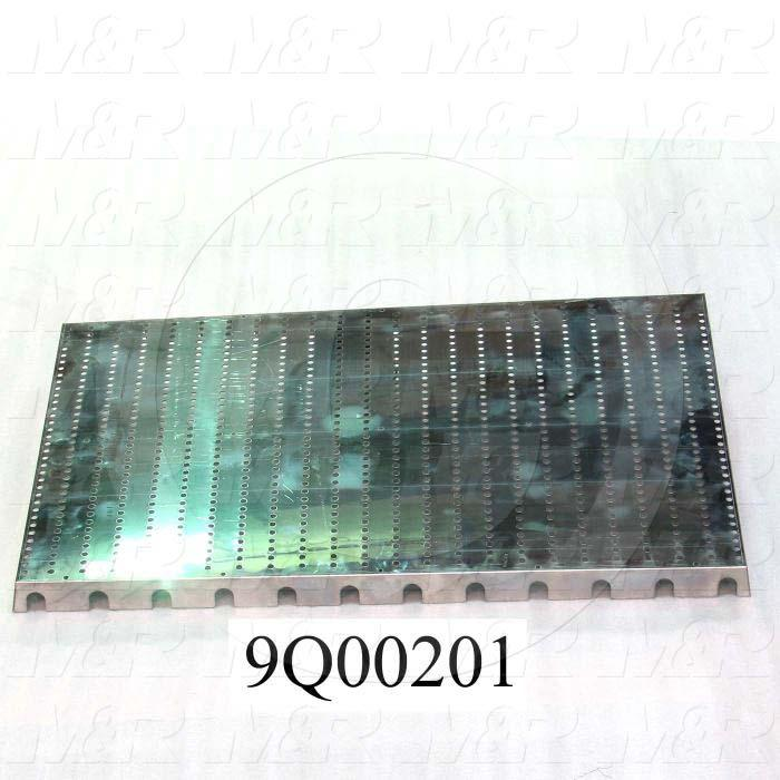 "Fabricated Parts, Mirror Panel 18.25""X29"", 28.38 in. Length, 18.25 in. Width, 1.38 in. Height, 20 GA Thickness"