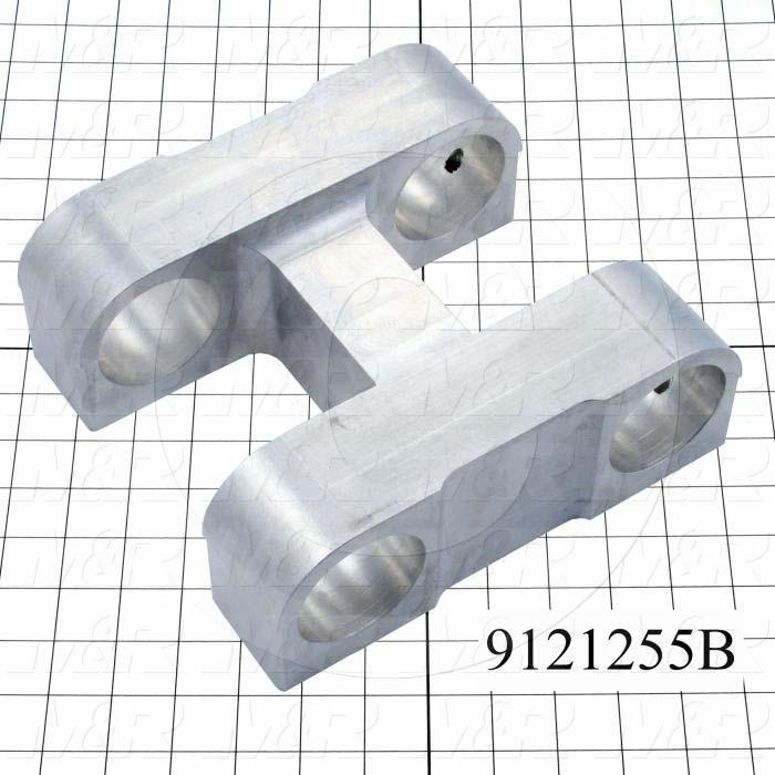 Fabricated Parts, Mounting Index Carriage, 9.13 in. Length, 8.50 in. Width, 3.31 in. Height