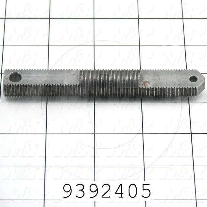 Fabricated Parts, OFF CONTACT ADJ. SCREW, 4.25 in. Length, 0.63 in. Width, 0.38 in. Thickness