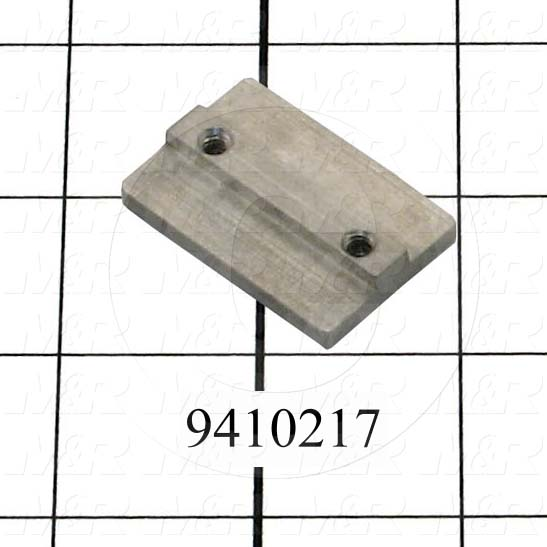 Fabricated Parts, Off Contact Rear Spacer, 1.50 in. Length, 1.00 in. Width, 0.25 in. Height