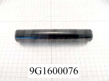Fabricated Parts, Outfeed Conv Drive Roller, 17.00 in. Length, 3.00 in. Diameter, OC50006 Black Hard Coating Finish