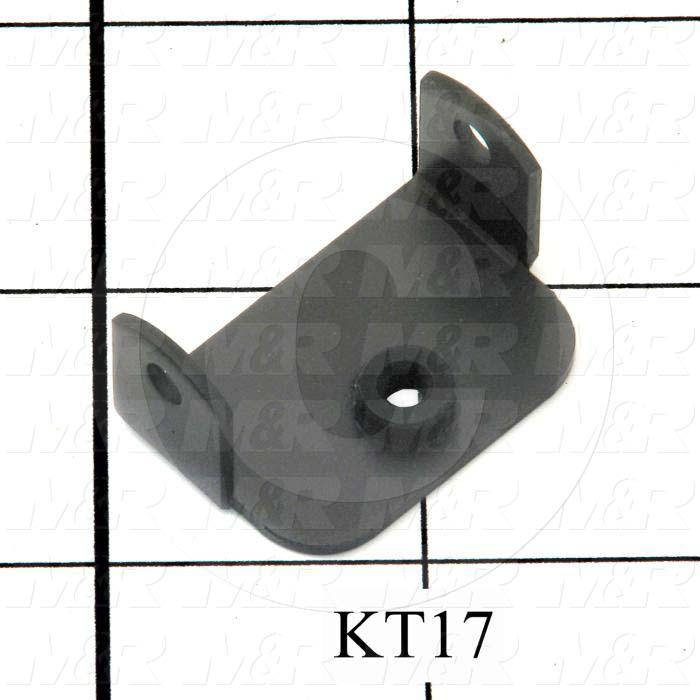Fabricated Parts, P/D Mounting Bracket, 1.25 in. Length, 0.88 in. Width, 0.63 in. Height