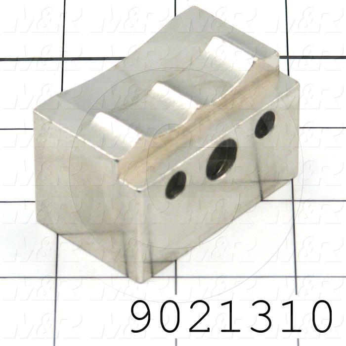Fabricated Parts, Pail Jaw Clamps, 2.00 in. Length, 1.20 in. Width, 1.25 in. Height
