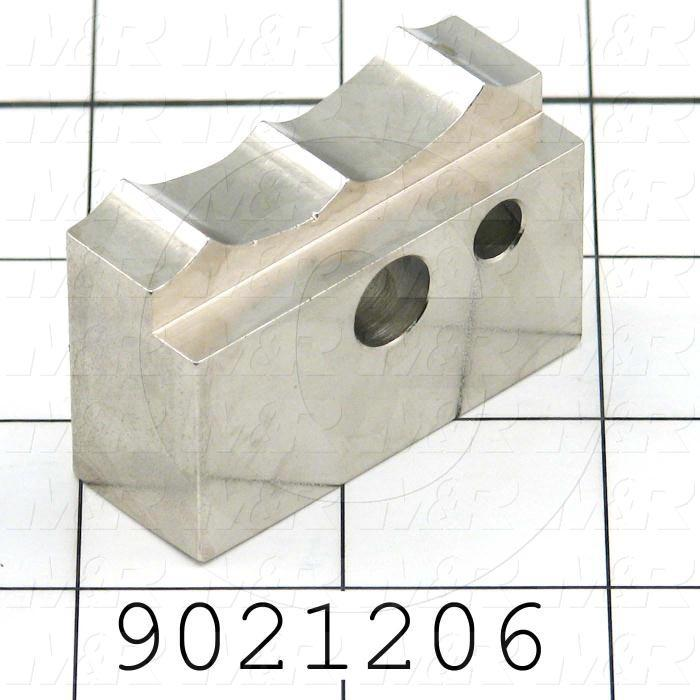 Fabricated Parts, Pail Jaw Clamps, 3.00 in. Length, 0.75 in. Width, 1.20 in. Height