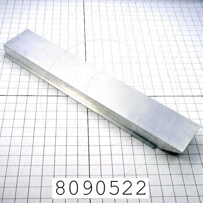 Fabricated Parts, Pallet Attachment Bracket, 22.00 in. Length
