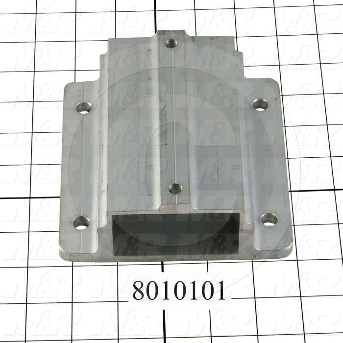 Fabricated Parts, Pallet Base, 6.00 in. Length, 5.88 in. Width, 2.18 in. Height
