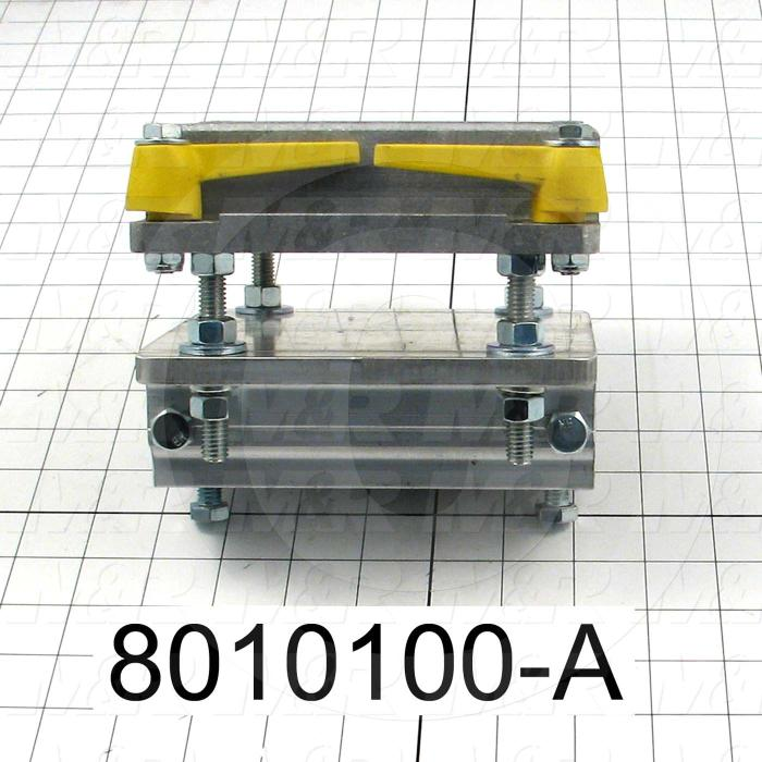 Fabricated Parts, Pallet Base Assembly, 6.00 in. Length, With Locking Cams