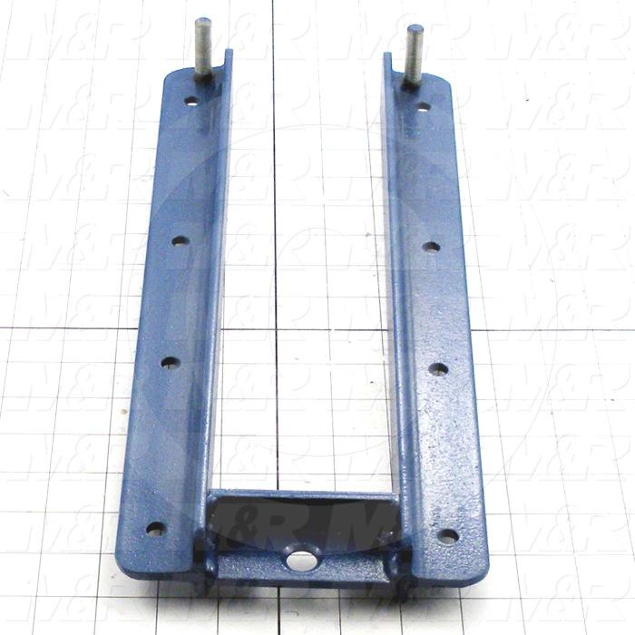 Fabricated Parts, Pallet Base Machined, 15.00 in. Length, 5.50 in. Width, 1.00 in. Height