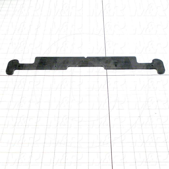 Fabricated Parts, Pallet Extension Front, 18.00 in. Length, 3.00 in. Width, 0.25 in. Thickness
